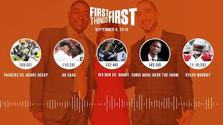 First Things First Audio Podcast(9.06.19) Cris Carter, Nick Wright, Jenna Wolfe | FIRST THINGS FIRST