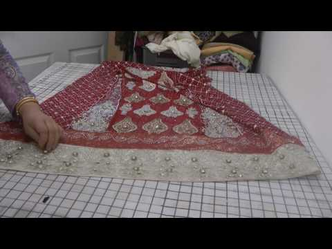 sewing stone beadwork suit