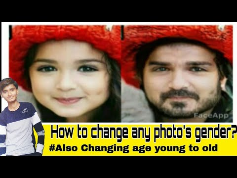 How to change gender of any photo