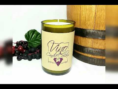 Wholesale Wine Bottle Scented Soy Wax Candles Available.