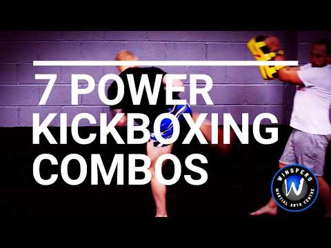 7 Power Kickboxing Combos