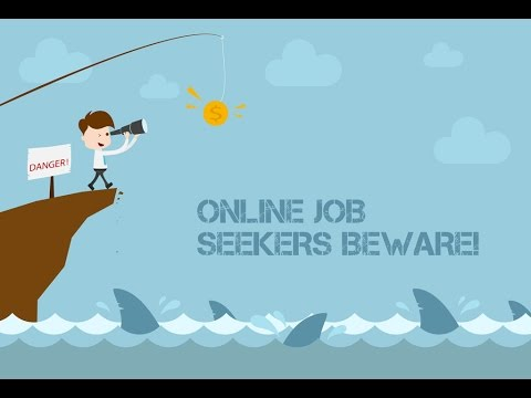 Job Seekers! Watch Out for these 2 SCAMS!
