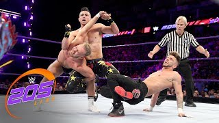 Kalisto vs. Tyler Bate vs. TJP vs. Kenny Williams - Fatal 4-Way Match: WWE 205 Live, May 15, 2018