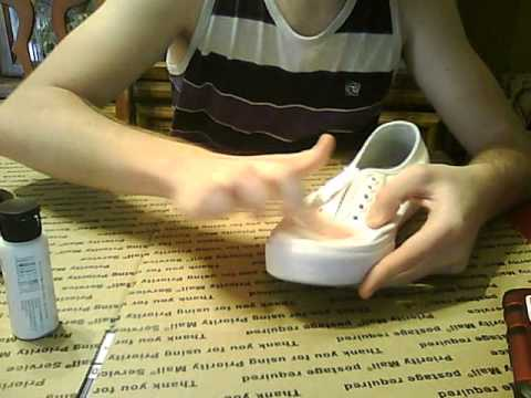How To Clean Yelowed White Canvas Vans