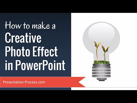 How to make a Creative Photo Effect in PowerPoint