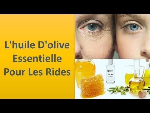L'huile d'olive pour les rides