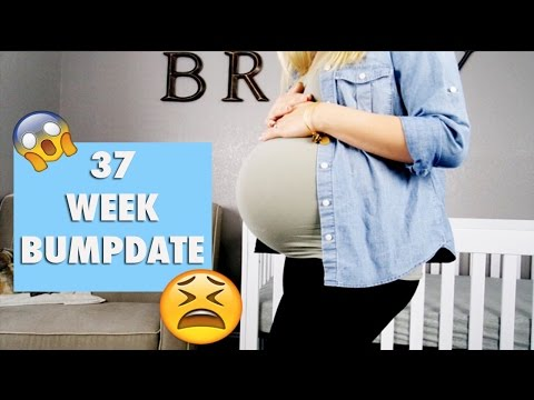 37 Weeks Pregnant Vlog! | Low amniotic fluid + Being induced??