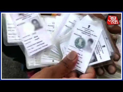 Election Commission Seizes More Than 9000 Voter ID Cards In K'taka; Cong-BJP War Of Words Erupts