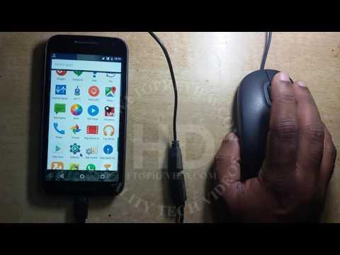 Moto G Turbo OTG Test With USB Mouse | Motorola Mobile OTG Testing | Mobile Tutorial | G1 G2 G3 G4 |