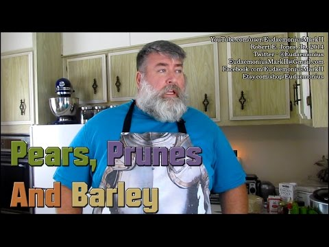 How to make PEARS, PRUNES & BARLEY - Day 16,440