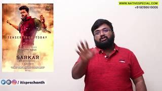 Sarkar teaser - My Thoughts !