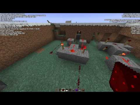 Minecraft: Easy Minecart 3-Way Railway Switching System With XOR Gates Tutorial