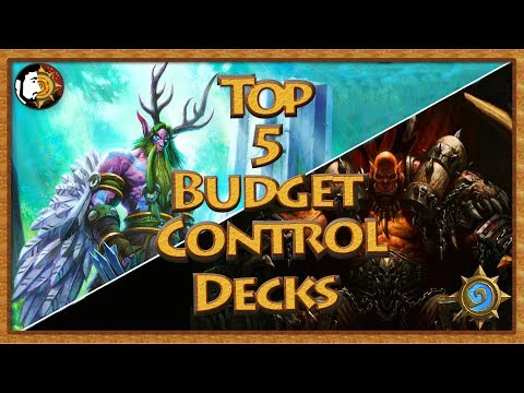 Hearthstone: Top 5 Budget Control Decks For Beginners