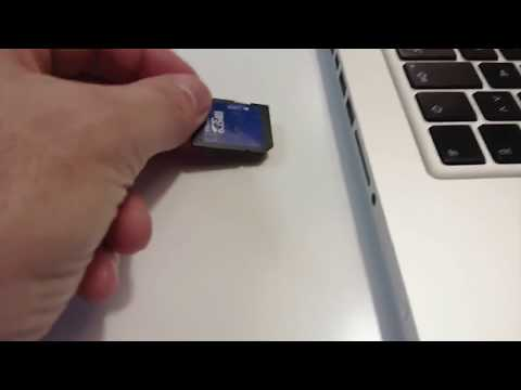 SD Card Read Only on Mac  - Remove Write Protection on SD Card