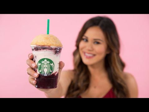 DIY Starbucks Cherry Pie Frappuccino | Eat the Trend