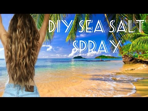 DIY Sea Salt Spray || Natural Beachy Waves☀️