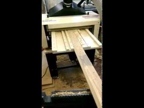 Making Crown Molding on Woodmaster