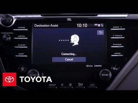 Entune 3.0: Destination Assist Connect | Toyota