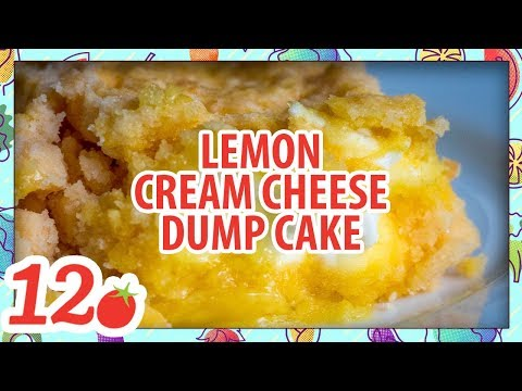 How to Make: 4-Ingredient Lemon Cream Cheese Dump Cake