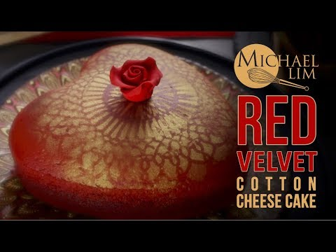 Red Velvet Cotton Cheese Cake Michael Lim US Measurements
