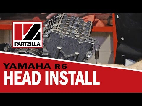 2008 Yamaha R6: Head Install | Partzilla.com