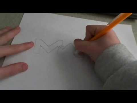 How to draw the MW3 Logo!