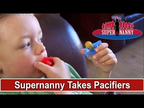 Supernanny Takes All Pacifiers Away! | Supernanny