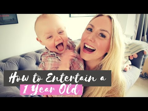 How To Entertain a One Year Old Baby | SJ STRUM