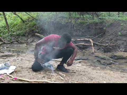 How to Make a Friction Fire - Bow Drill Method
