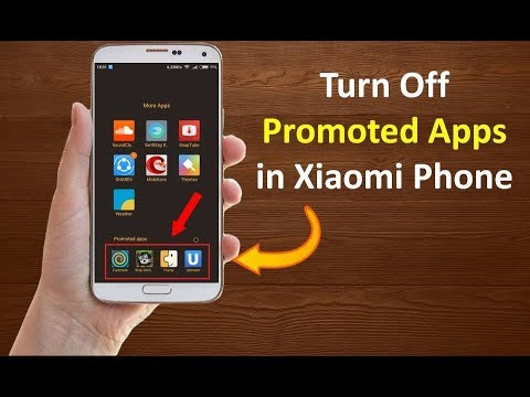 How to Remove Promoted Apps From Apps Folder in Xiaomi Phones 2019