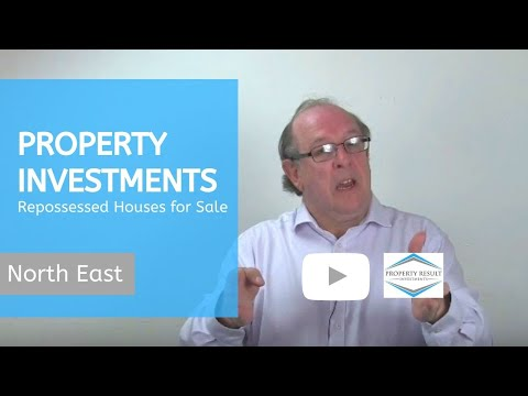Property Investments in North East – Repossessed Houses for Sale North East
