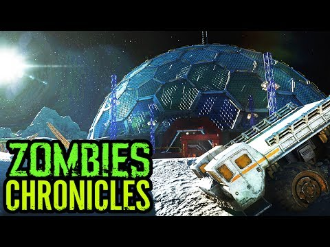 NEW SECRET EASTER EGG ON MOON FOUND! - London Newspaper Zombie Chronicles Easter Egg (BO3 Zombies)