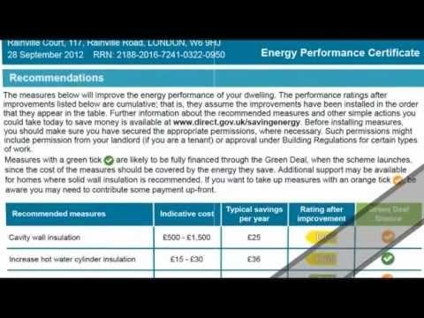 Domestic Energy Performance Certificates (EPC) - 2 of 5
