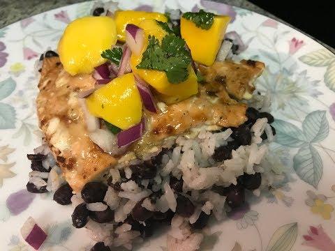 Caribbean Jerk Salmon and Weightloss Update