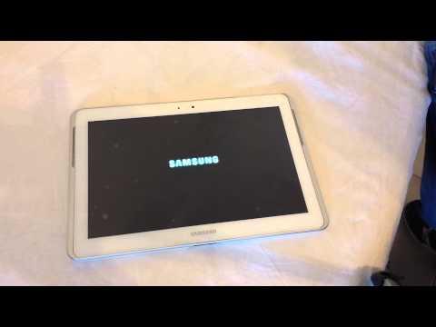Ripristino Samsung Galaxy Tab 2 10.1 formattazione hard factory reset