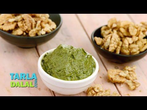 Pesto Sauce by Tarla Dalal