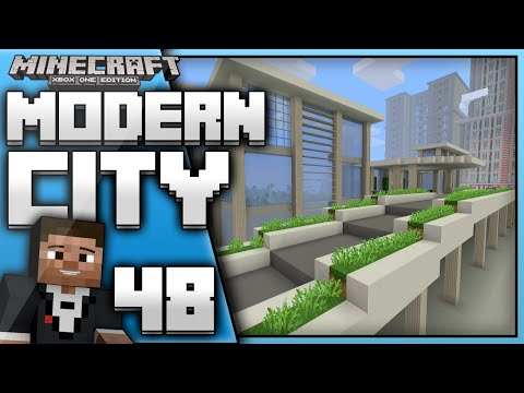 Minecraft Xbox One : Building a Modern City (EP.48)Town Hall Again!