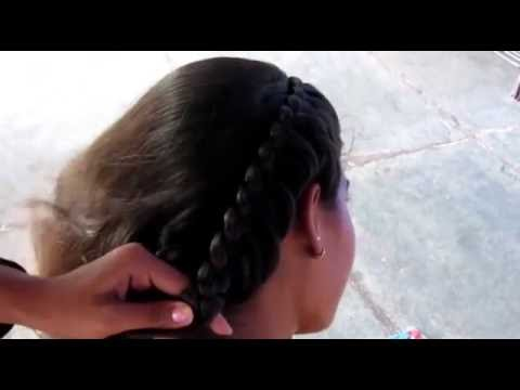 Beautiful Side French Braid Hairstyle