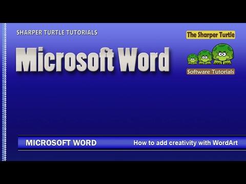 Microsoft Word - How to add creativity with WordArt