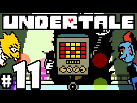 UNDERTALE Blind Gameplay Playthrough PART 11 - Mettaton Quiz Show Boss Fight, Alphys's Lab, Hotland