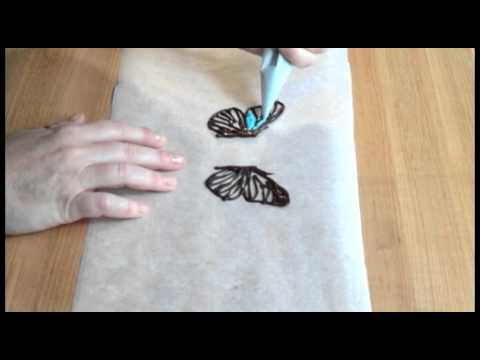 How to Make Chocolate Butterflies - Chocolate Connoisseur