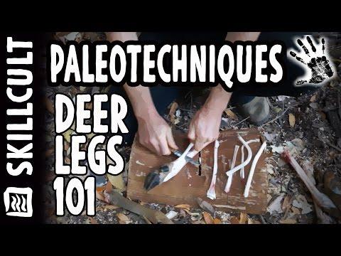 How I Process Deer Legs for Sinew, Skins, Bones, Hooves and Glue Stock