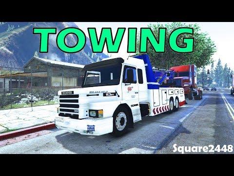 Heavy Duty Towing | Scania Wrecker | GTA 5