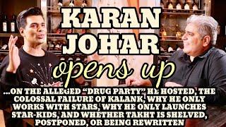 Karan Johar interview with Rajeev Masand I Takht I Kalank I Drug party