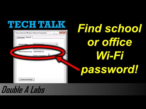 Find School or Office Wi-Fi Password
