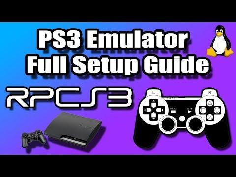 RPCS3 - PS3 Emulator Linux/Setup Full Setup Guide (PlayStation 3 Emulation)