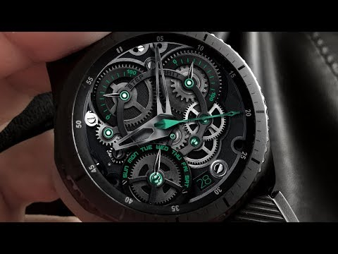 3D Animated Gears - Watch Face for Samsung Gear S2 / S3 / Sport
