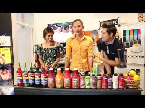 BonCafe Thailand Island Mix 6 Strawberry Margarita