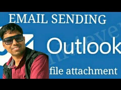 MS OUTLOOK  2007 EMAIL SENDING(WITH FILE ATTACHMENT) TUTORIAL In GUJARATI BY MAYANK PATANI  (2017)