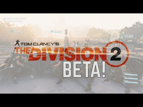 THE DIVISION 2 BETA CONFIRMED &  *LEAKED* 8-MAN RAIDS COMING!